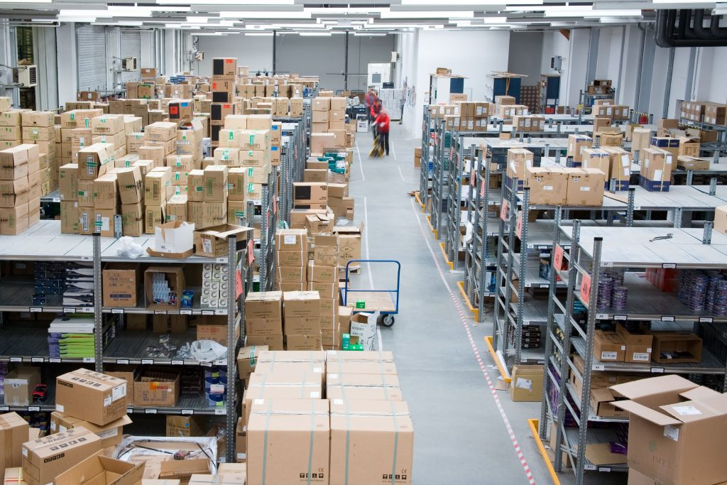 Inside of a warehouse - buying an established business