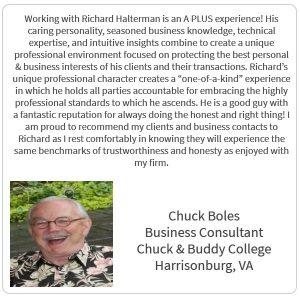 Chuck Boles Testimonial