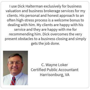 C. Wayne Loker Testimonial