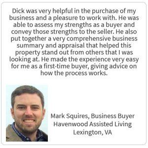 Mark Squires Testimonial