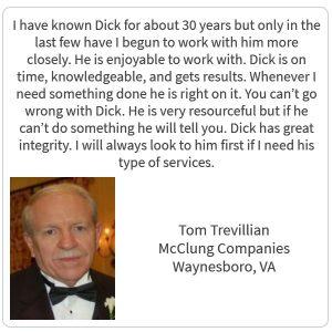 Tom Trevillian Testimonial