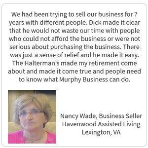 Testimonial from Nancy Wade