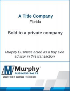 A Title Company Sold Murphy Business Clearwater Office