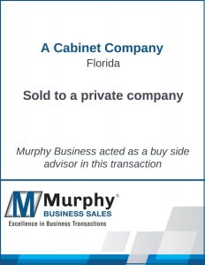 Cabinet Company Sold Murphy Business Clearwater Office